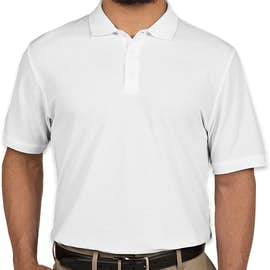 Port Authority Lightweight Classic Pique Polo - Color: White