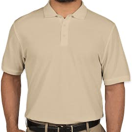 Port Authority Lightweight Classic Pique Polo - Color: Wheat