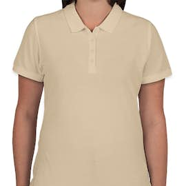 Port Authority Women's Lightweight Classic Pique Polo - Color: Wheat