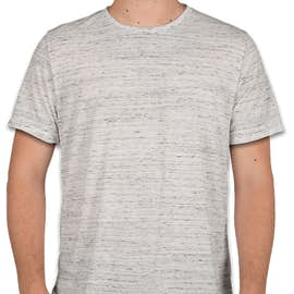 Bella + Canvas Melange Blend T-shirt - Color: White Marble