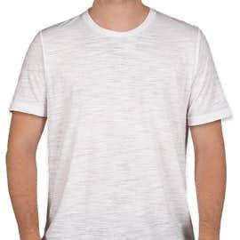 Bella + Canvas Slub T-shirt - Color: White Slub