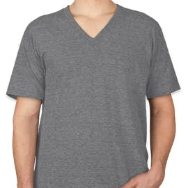 American Apparel Tri-Blend V-Neck T-shirt - Color: Athletic Grey