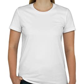 American Apparel Juniors Jersey T-shirt - Color: White
