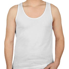 American Apparel 50/50 Tank - Color: White