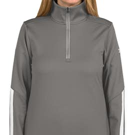 Under Armour Women's Qualifier Performance Quarter Zip - Color: Graphite / White
