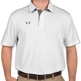 Under Armour Tech Polo - Color: White