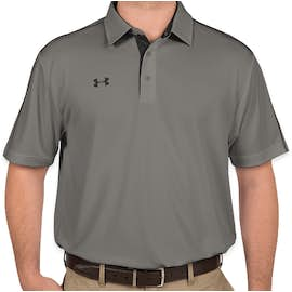 Under Armour Tech Polo - Color: Graphite