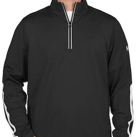 Under Armour Qualifier Performance Quarter Zip - Color: Black / White