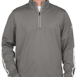 Under Armour Qualifier Performance Quarter Zip - Color: Graphite / White