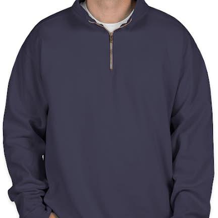 e5c8ddde ... Comfort Colors Quarter Zip Sweatshirt - Color: True Navy ...