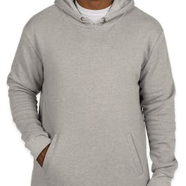 Next Level Soft Pullover Hoodie - Color: Heather Grey