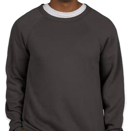 Bella + Canvas Ultra Soft Crewneck Sweatshirt - Color: Dark Grey
