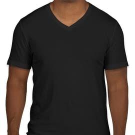 GAP Essential Short Sleeve V-Neck Tee - Color: True Black