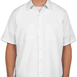 Red Kap® Industrial Work Shirt - Color: White