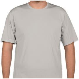 Sport-Tek Soft Jersey Performance Shirt - Color: Silver