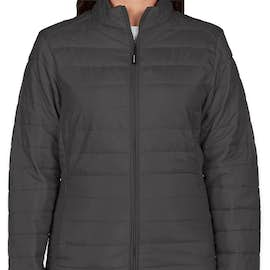 Core 365 Women's Insulated Packable Puffer Jacket - Color: Carbon