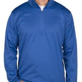 The North Face Tech Quarter Zip Fleece Pullover - Color: Monster Blue