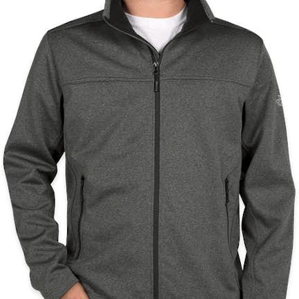 2340cca1d4c0 ... The North Face Ridgeline Soft Shell Jacket - Color  Dark Grey Heather  ...