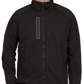The North Face Canyon Flats Fleece Jacket - Color: Black