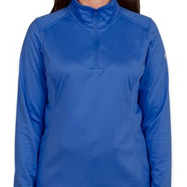 The North Face Women's Tech Quarter Zip Fleece Pullover - Color: Monster Blue