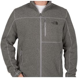 The North Face Sweater Fleece Jacket - Color: Medium Grey Heather