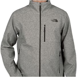The North Face Apex Barrier Soft Shell Jacket - Color: Medium Grey Heather