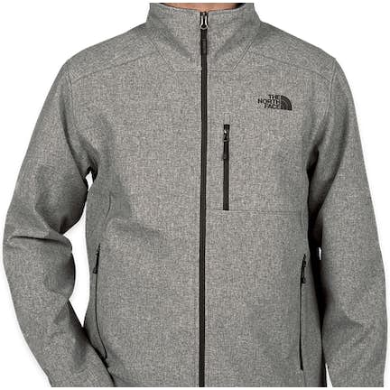 2fa3499759ee ... The North Face Apex Barrier Soft Shell Jacket - Color  Medium Grey  Heather ...