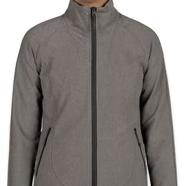 The North Face Women's Tech Stretch Soft Shell Jacket - Color: Medium Grey Heather