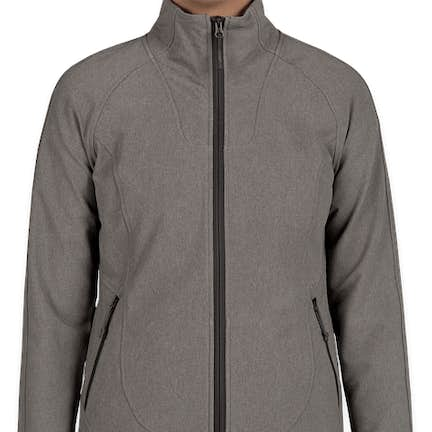 53c2551072cd ... The North Face Women s Tech Stretch Soft Shell Jacket - Color  Medium  Grey Heather ...