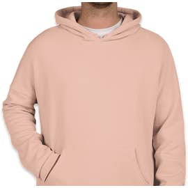 Bella + Canvas Ultra Soft Drop Shoulder Pullover Hoodie - Color: Peach