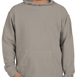 Comfort Colors French Terry Scuba Pullover Hoodie - Color: Grey