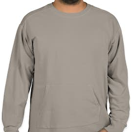 Comfort Colors French Terry Crewneck Sweatshirt - Color: Grey