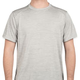 Augusta Tonal Heather Performance Shirt - Color: Silver