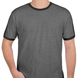 LAT Soccer T-shirt - Color: Granite Heather / Vintage Smoke