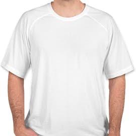 Sport-Tek Tri-Blend Performance Raglan T-Shirt - Color: White