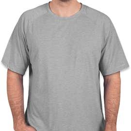 Sport-Tek Tri-Blend Performance Raglan T-Shirt - Color: Light Grey Heather