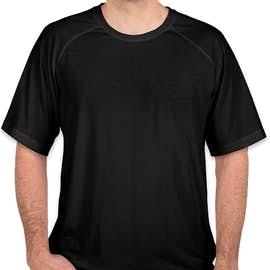 Sport-Tek Tri-Blend Performance Raglan T-Shirt - Color: Black Triad Solid