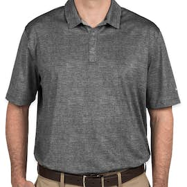 Nike Golf Dri-FIT Crosshatch Performance Polo - Color: Cool Grey / Anthracite