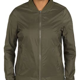 Charles River Women's Boston Flight Bomber Jacket - Color: Olive