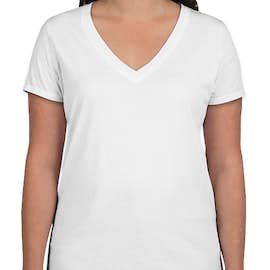 GAP Women's Vintage Wash V-Neck Tee - Color: Optic White