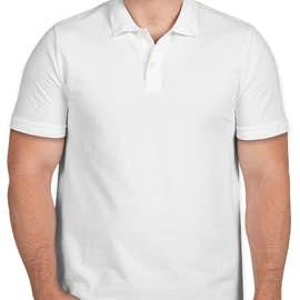 GAP Cotton Pique Polo - Color: White