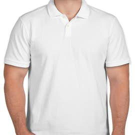 GAP Cotton Pique Polo with Stretch - Color: White