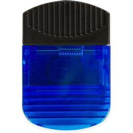 Jumbo Magnetic Memo Clip with Grip - Color: Translucent Blue
