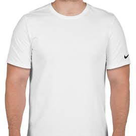 Nike 100% Cotton T-shirt - Color: White