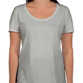 Nike Women's 100% Cotton T-shirt - Color: Dark Grey Heather
