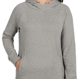 Charles River Women's Hometown Hoodie - Color: Heather Grey