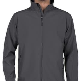 Port Authority Core Fleece Lined Soft Shell Jacket - Color: Battleship Grey