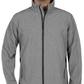 Port Authority Core Fleece Lined Soft Shell Jacket - Color: Pearl Grey Heather