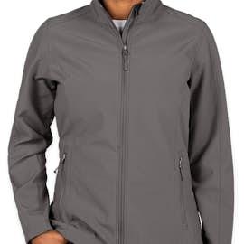 Port Authority Women's Core Fleece Lined Soft Shell Jacket - Color: Deep Smoke