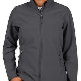 Port Authority Women's Core Fleece Lined Soft Shell Jacket - Color: Battleship Grey